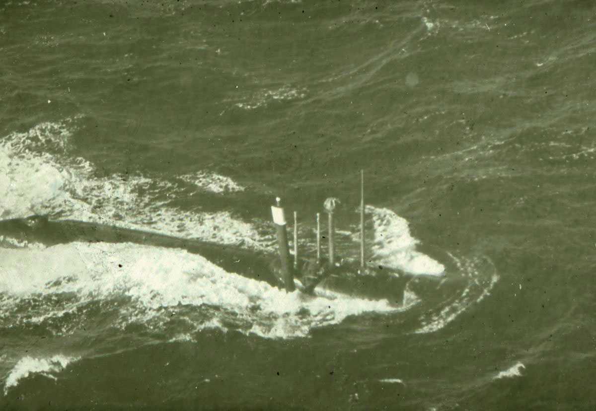 Russisk ubåt av Hotel - klassen.