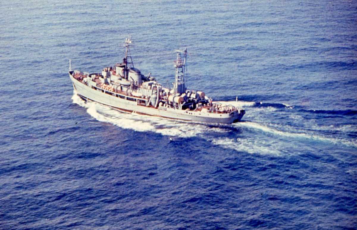 Russisk fartøy av Prut - klassen.