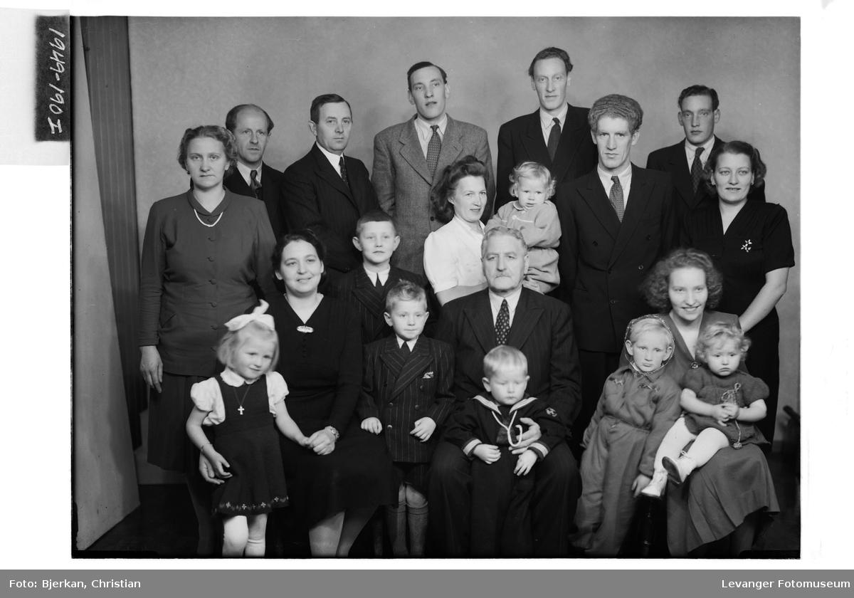 Per Haugan med familie