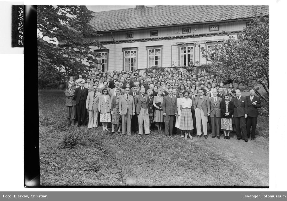 Lærerkurset på Røstad Skole, 1949
