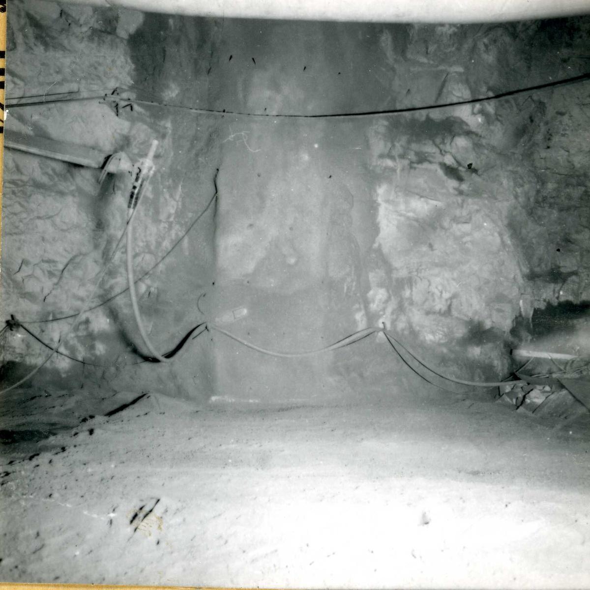 Tilløpstunnel frå Vesås, tunnel innvendig