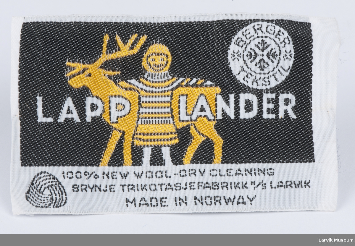 Logo: LAPP LANDER, Brynje Trikotasjefabrikk A/S Larvik