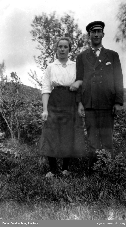 Jenny Jensen Dekkerhus og Aksel Bjørgan