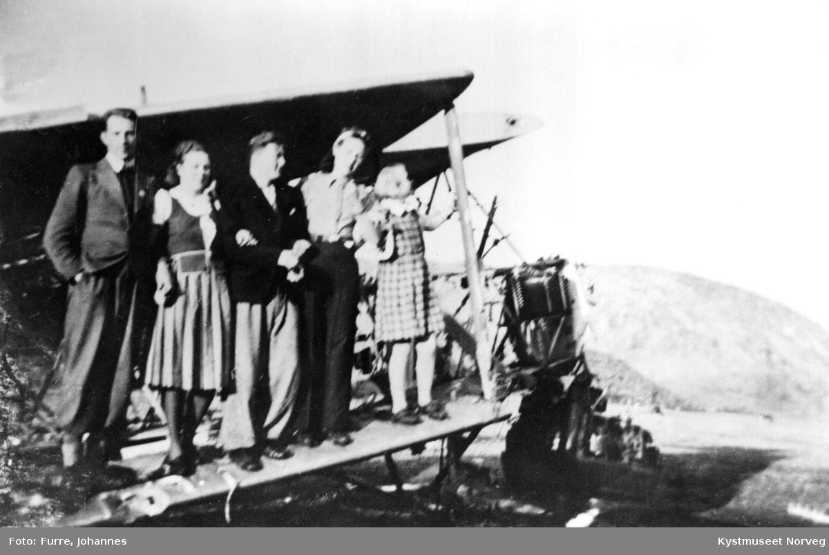 Engelske flyvrak på Haug i Leka kommune