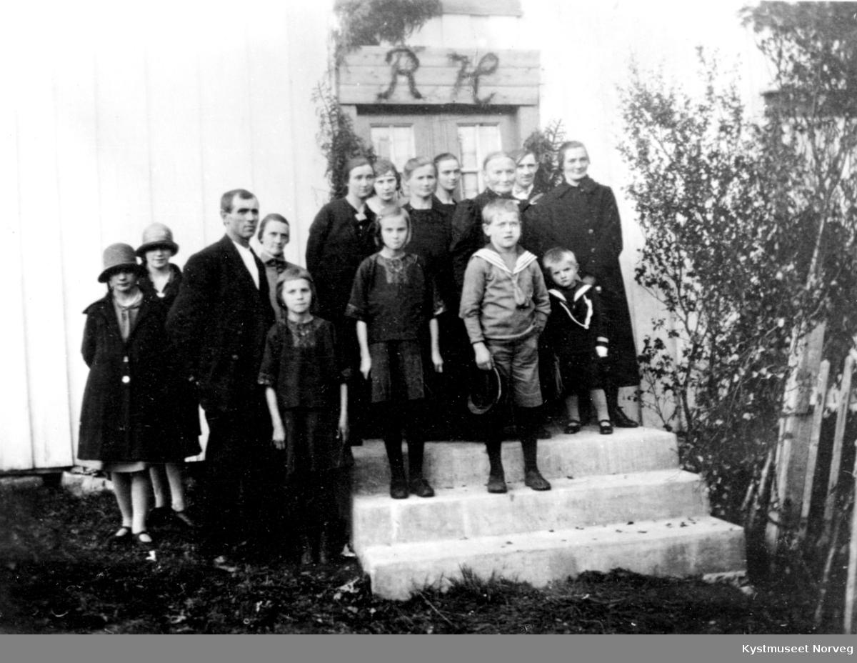 Begravelsen til Rindulv Horseng