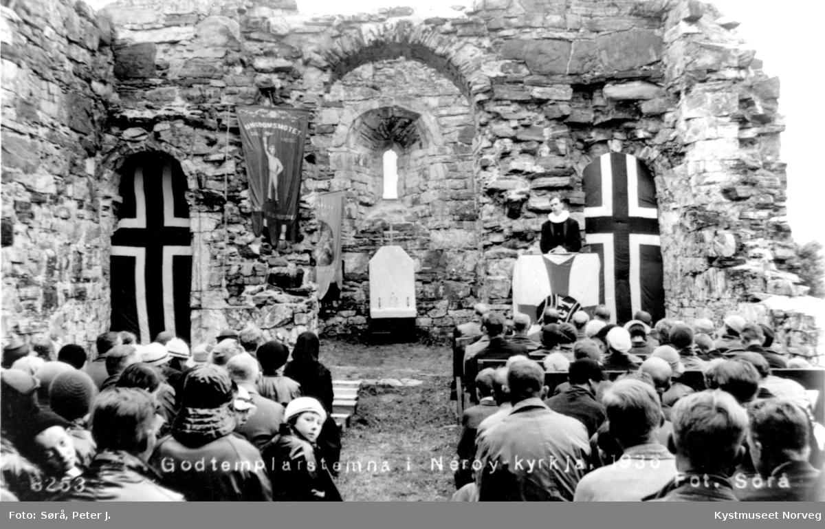 Nærøya Kirke, Godtemplarstevne 1938