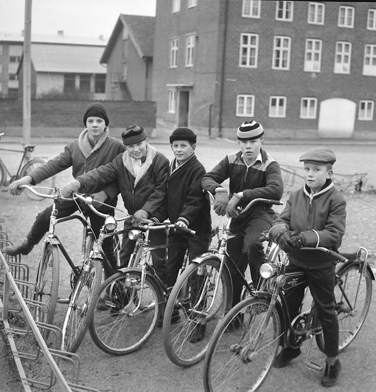 """Cykel UCA [Uddevalla Cykelamatörer] januari 1961"""