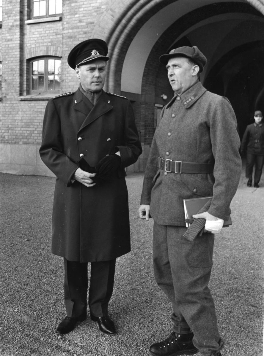 Inspektion, A 6. Artilleriinspektören inspekterar regementet och ArtKAS.