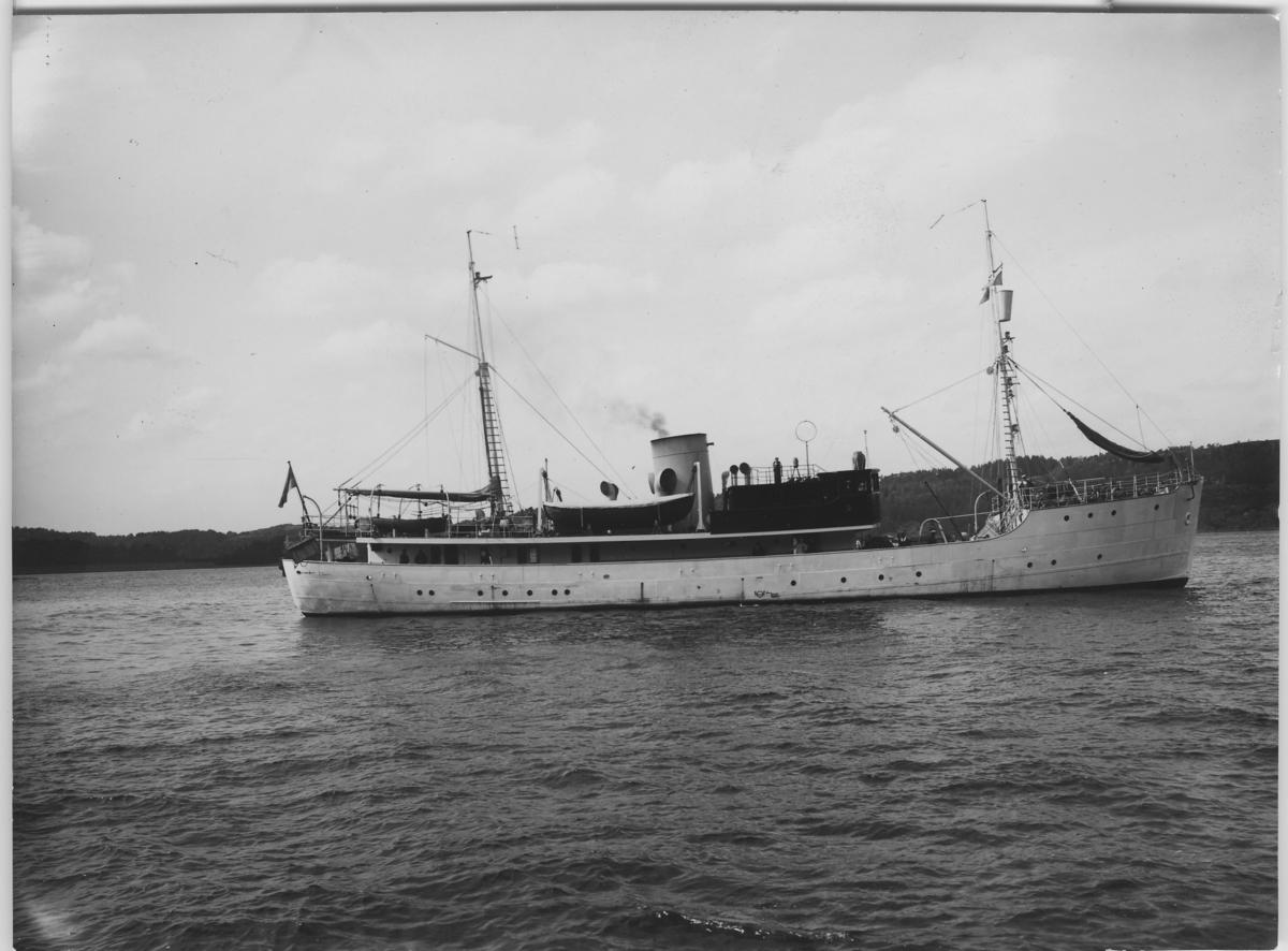 'Undersökningsfartyget ''Skagerak''.'