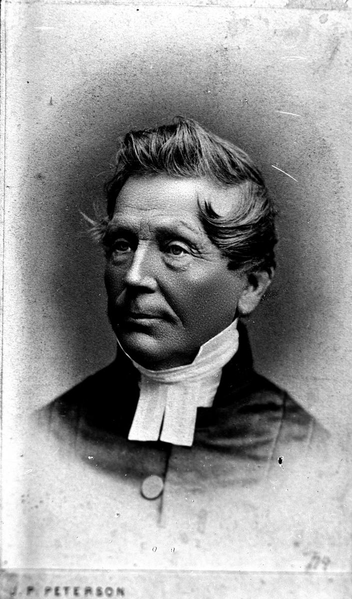Pastor Sverius. Floda Halsåker, 1892. Fotograf: C Billberg.