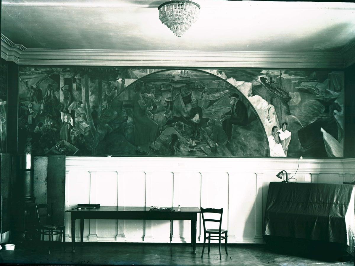 Interiør - Veggmaleri.