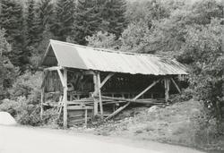 Et gammelt sagbruk i Skodje.