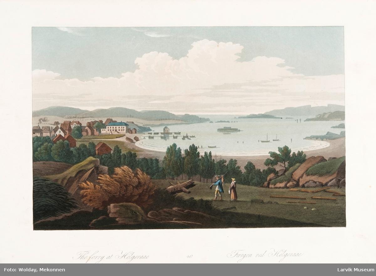 fergen ved Helgeroa
