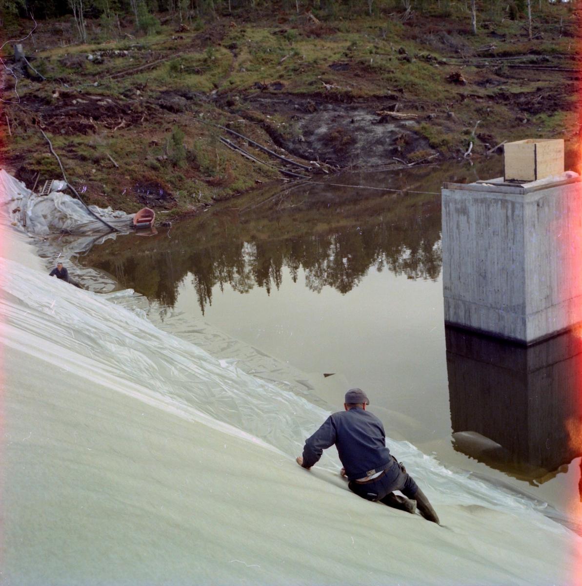 Anleggsarbeid i Bjørndalen