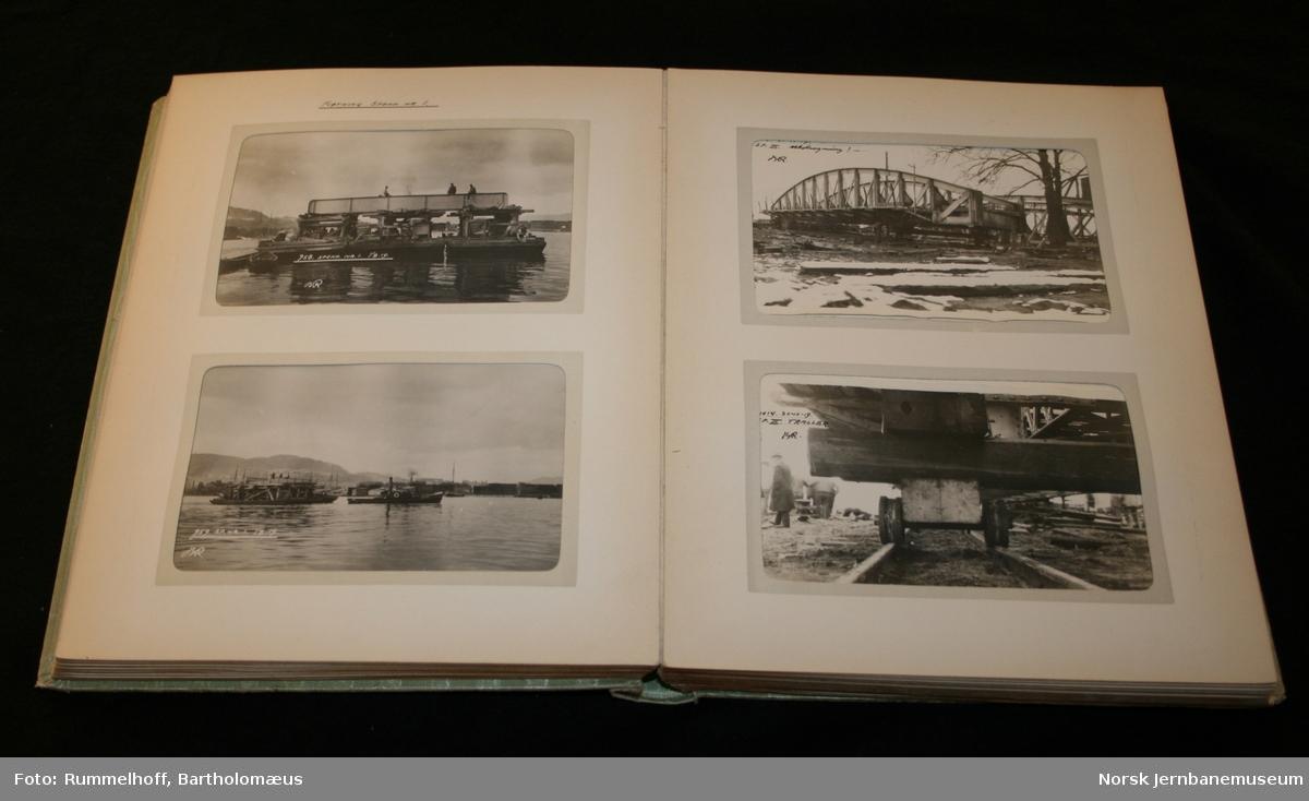 Drammensbroens rekonstruksjon 1918 - 1919