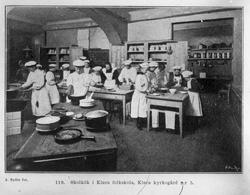 Skolekjøkken, Klara folkeskole