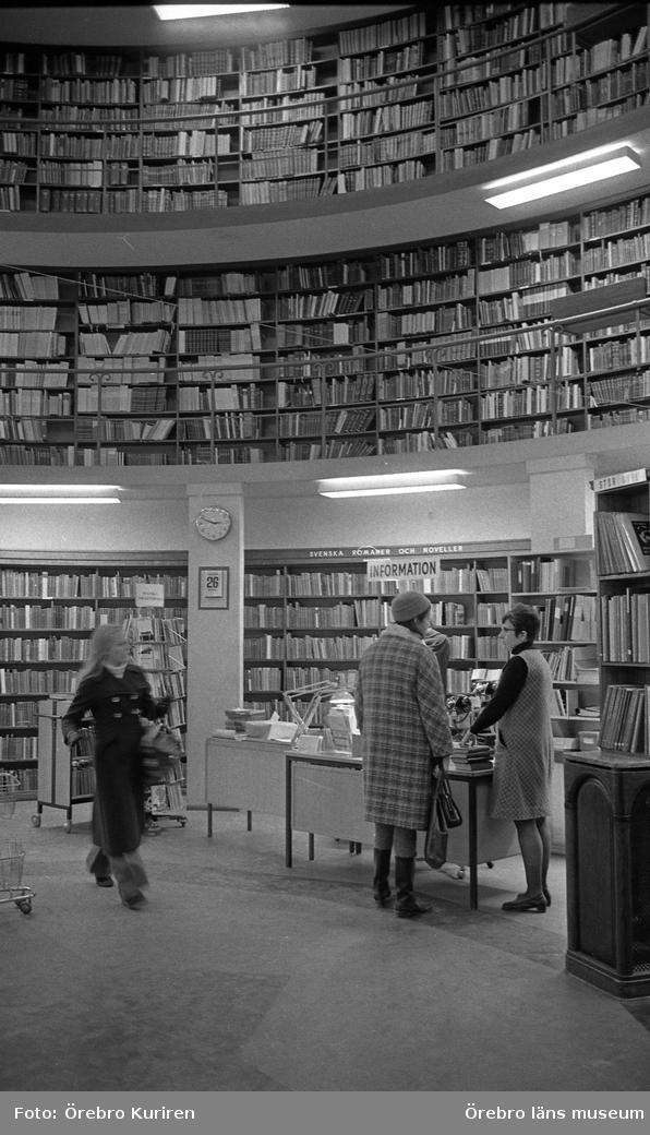 M. Johnsson Biblioteket 27 januari 1972