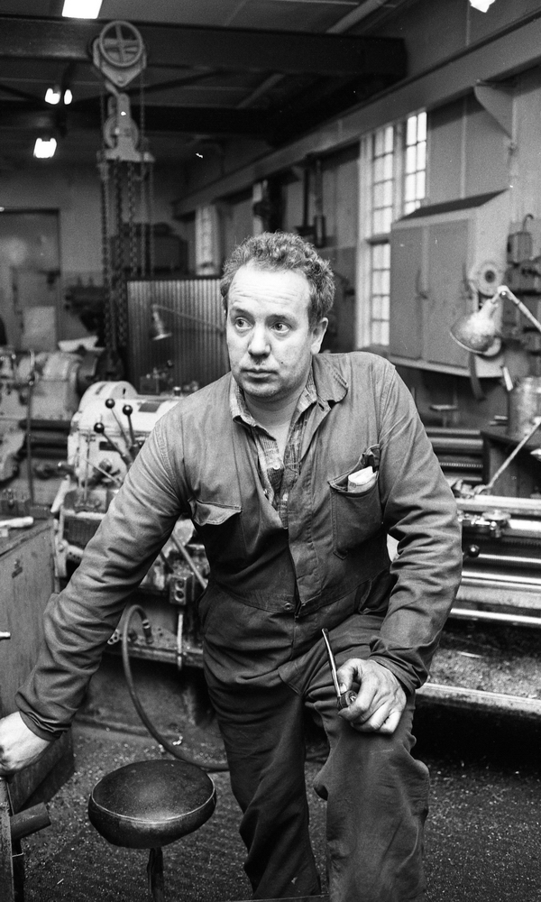 Industrireportage från Frövifors, 14 juni 1967