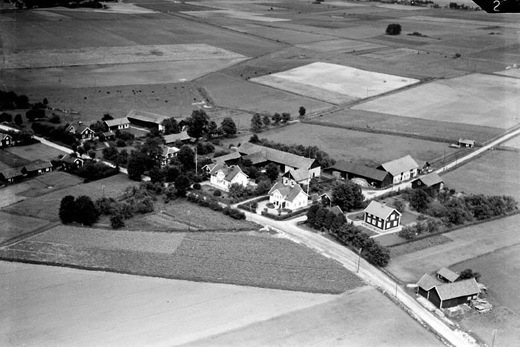 Flygfoto över Vintrosa (?)