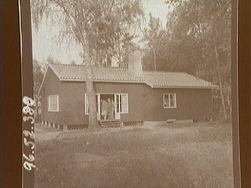 Strömsborg brann ner 1950. Den nya klubbstugan stod klar sam c27306a868869