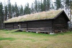 Fjøset på Melgårdssetra. (Foto/Photo)
