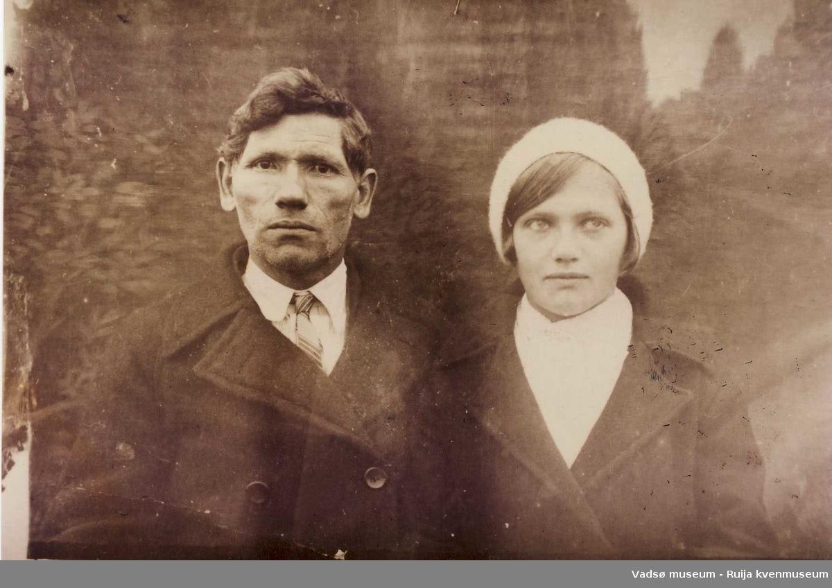 Iver Johannes Berger med datteren Marie Berger ca 1920