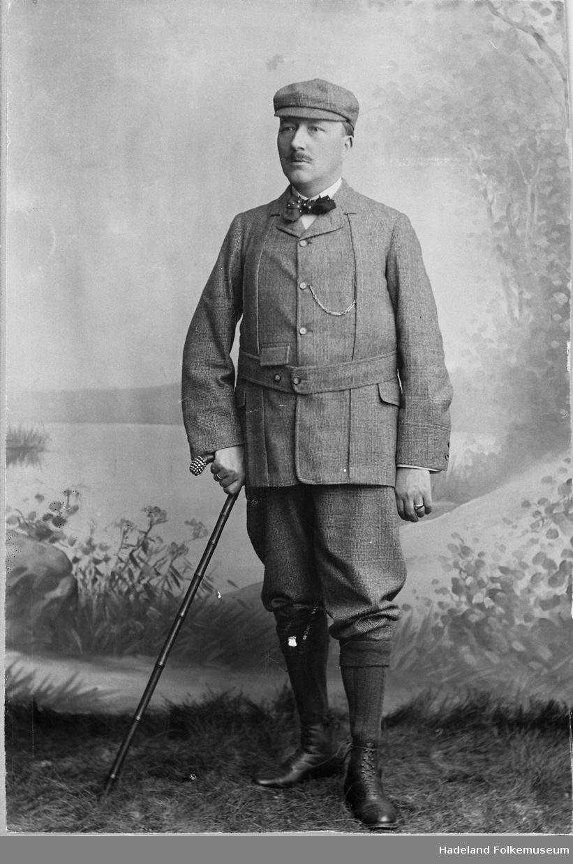 """Anton A. Skøien (1852-1918), """"Engelskmannen på Skøien"""""""