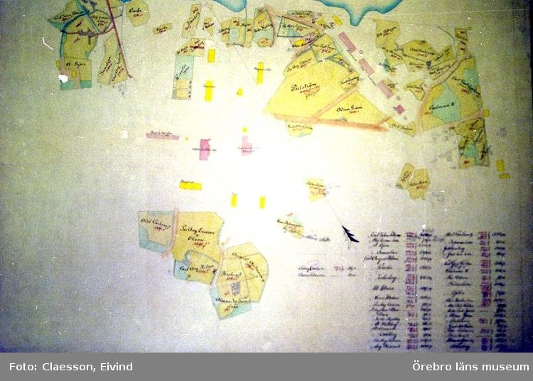 Karta Zinkgruvan.Karta Over Zinkgruvan Orebro Lans Museum Digitaltmuseum