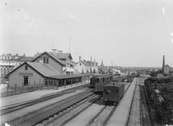 Järnvägsstationen i Eskilstuna