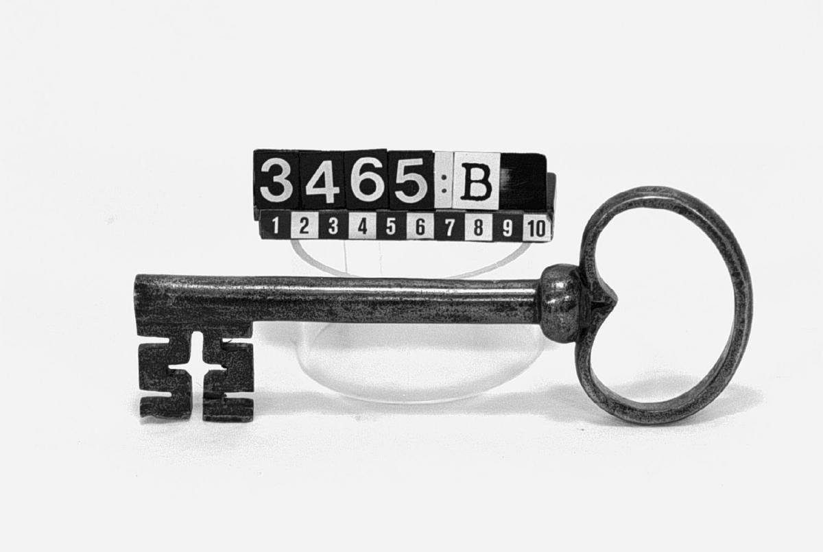 Nyckel till dörrlås.