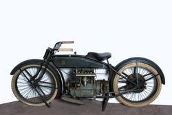 Motorcykel, enligt Henderson