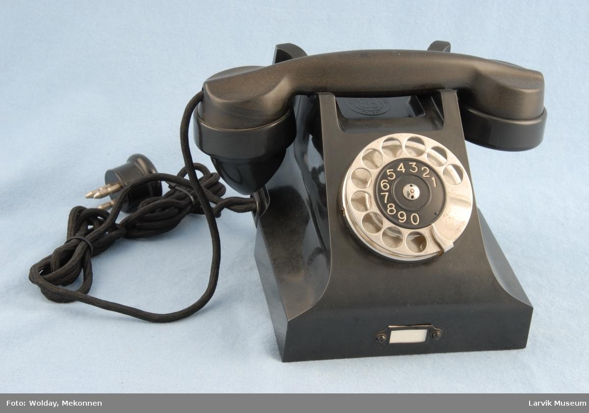 Form: Vanlig telefon Automat