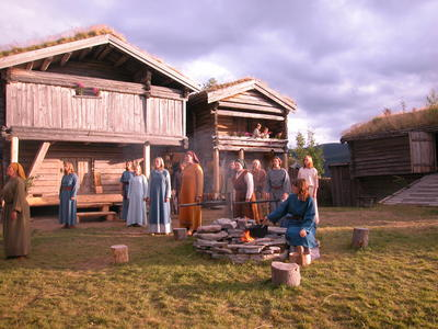 Olsokspelet Tylldalen bygdetun2