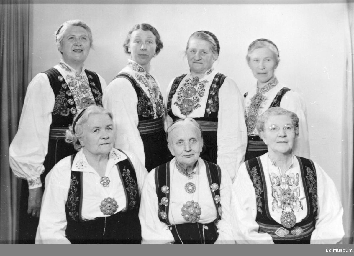 Leiarar i Bø Bondekvinnelag Sjå namn under Opplysningar.