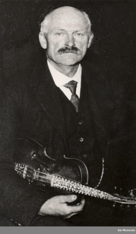 Harald Manheim, spelemann i Seljord