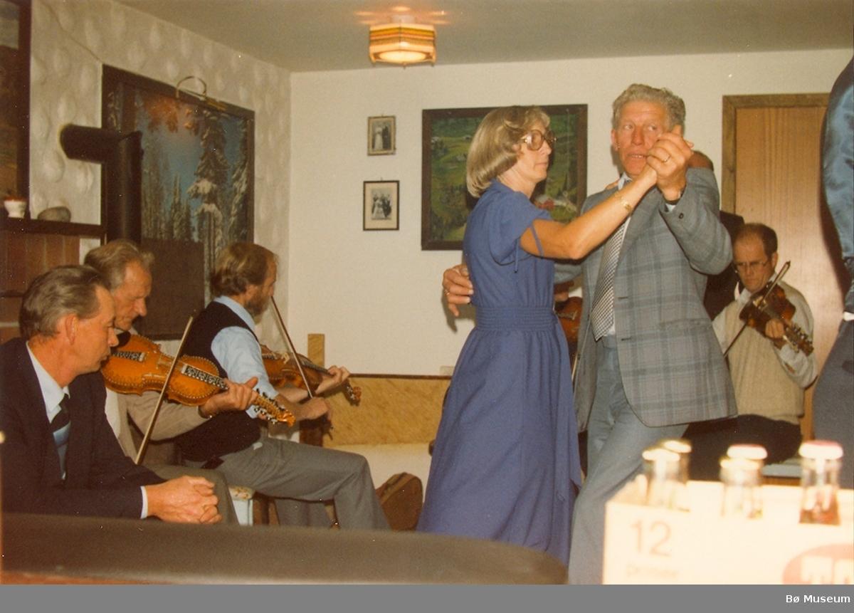På Bjønnemyr 1983, Anund Roheim 70-årsdag