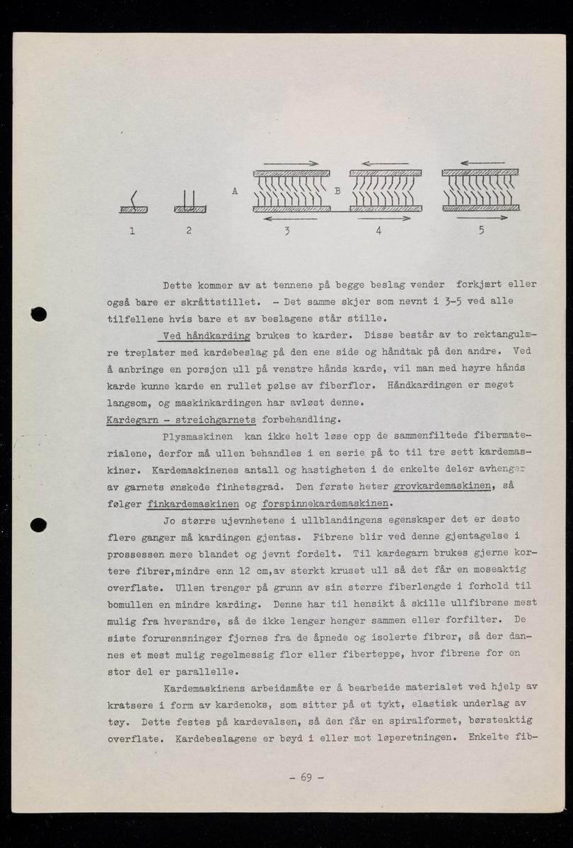 """Heftet: """"Yrkeslære for Møbeltapetser- og dekorfaget av Øivind Tanum, Tapetsermester og Interiørarkitekt m.fl."""" Yrkeslære for møbeltapetsering, dekorfag"""