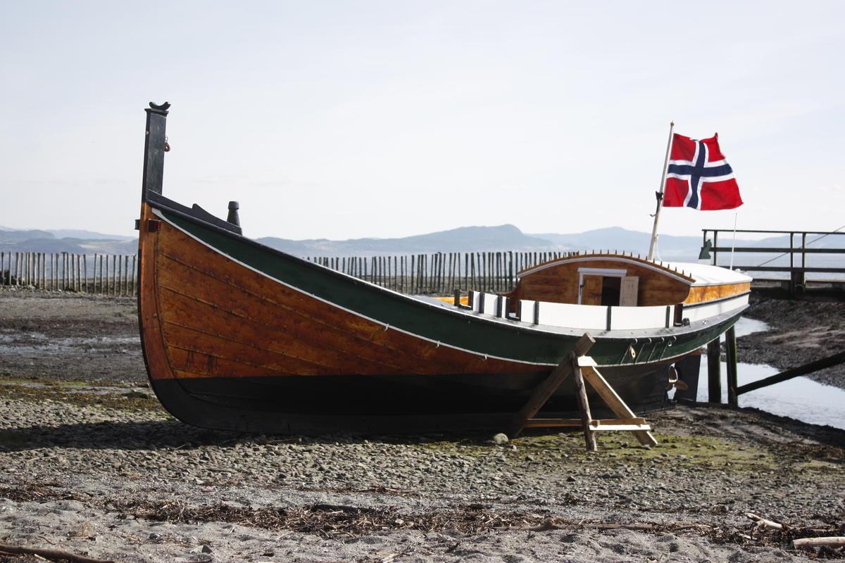 Åfjordsbåt. (Foto/Photo)