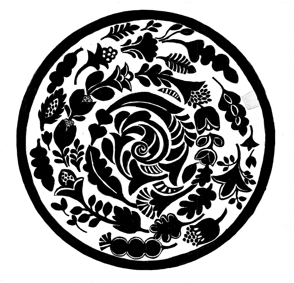 IVSpiral  Mitt fjerde utkast bruker også motiver fra naturen.Det er formet som en spiral. Spiralen finnes over alt i naturen. I tusener av år, har vi mennesker vært fascinert av den. Det finnes knapt en vitenskapsgren eller kulturområde hvor spiralen ikke er tilstede.