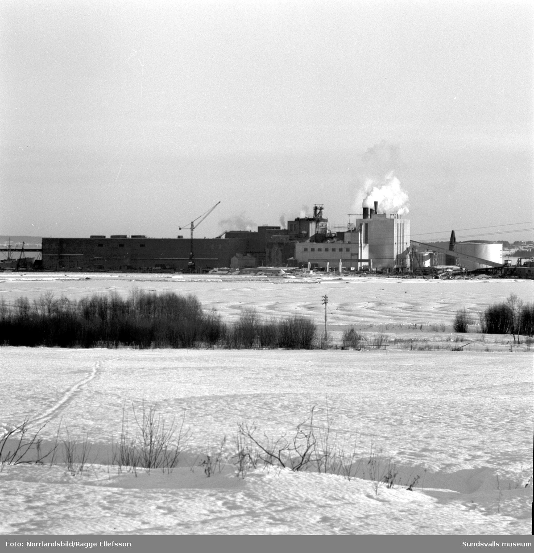 Exteriörbild av nya fabriken i Vivstavarv.