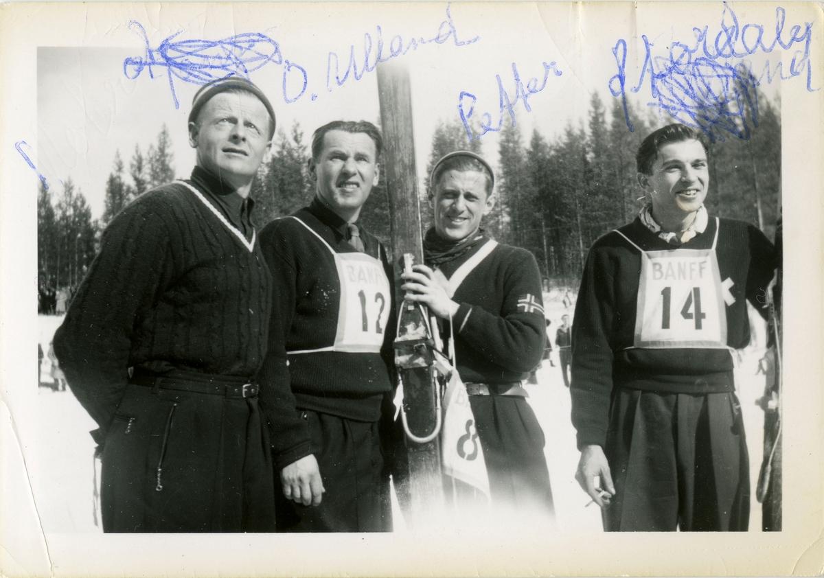 Kongsberg skiers in Canada