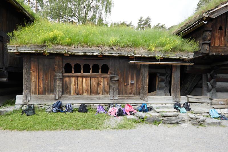 Årestua fra Åmlid i Valle.