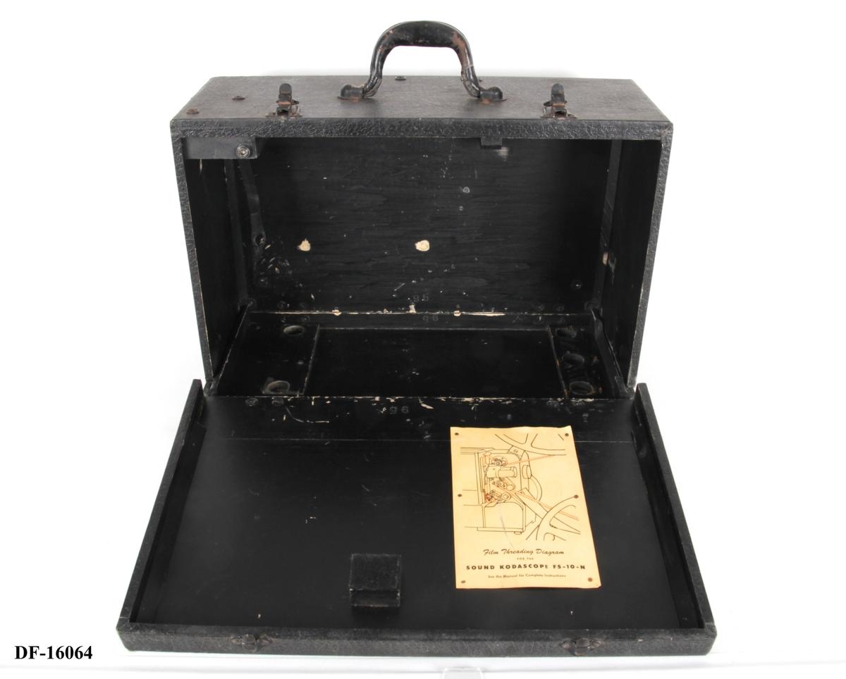Koffert til projektor. Del av projektorutstyr.