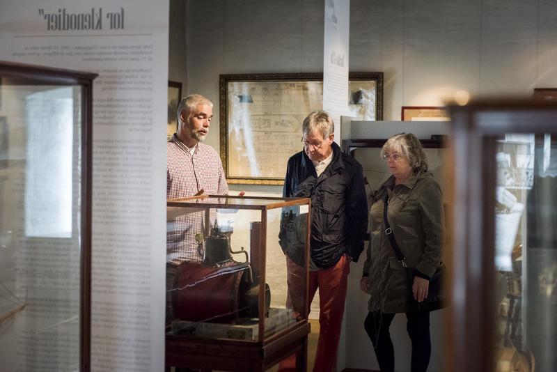 Omvisning på museet (Foto/Photo)