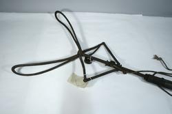 Tangen bruktes ved hjelp av et tau.