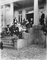 Familien Bjørnson.