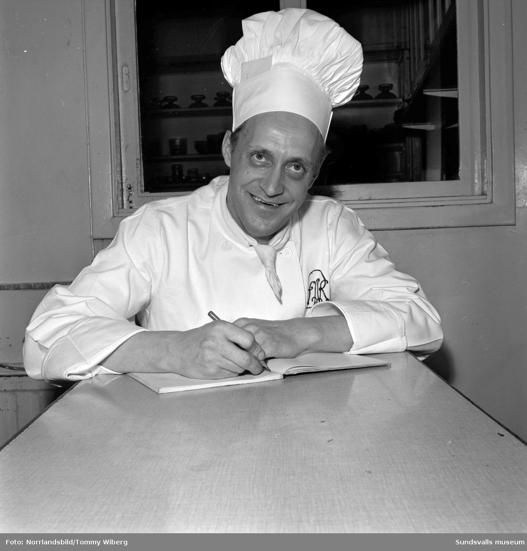 Köksmästaren på Restaurang Runan.