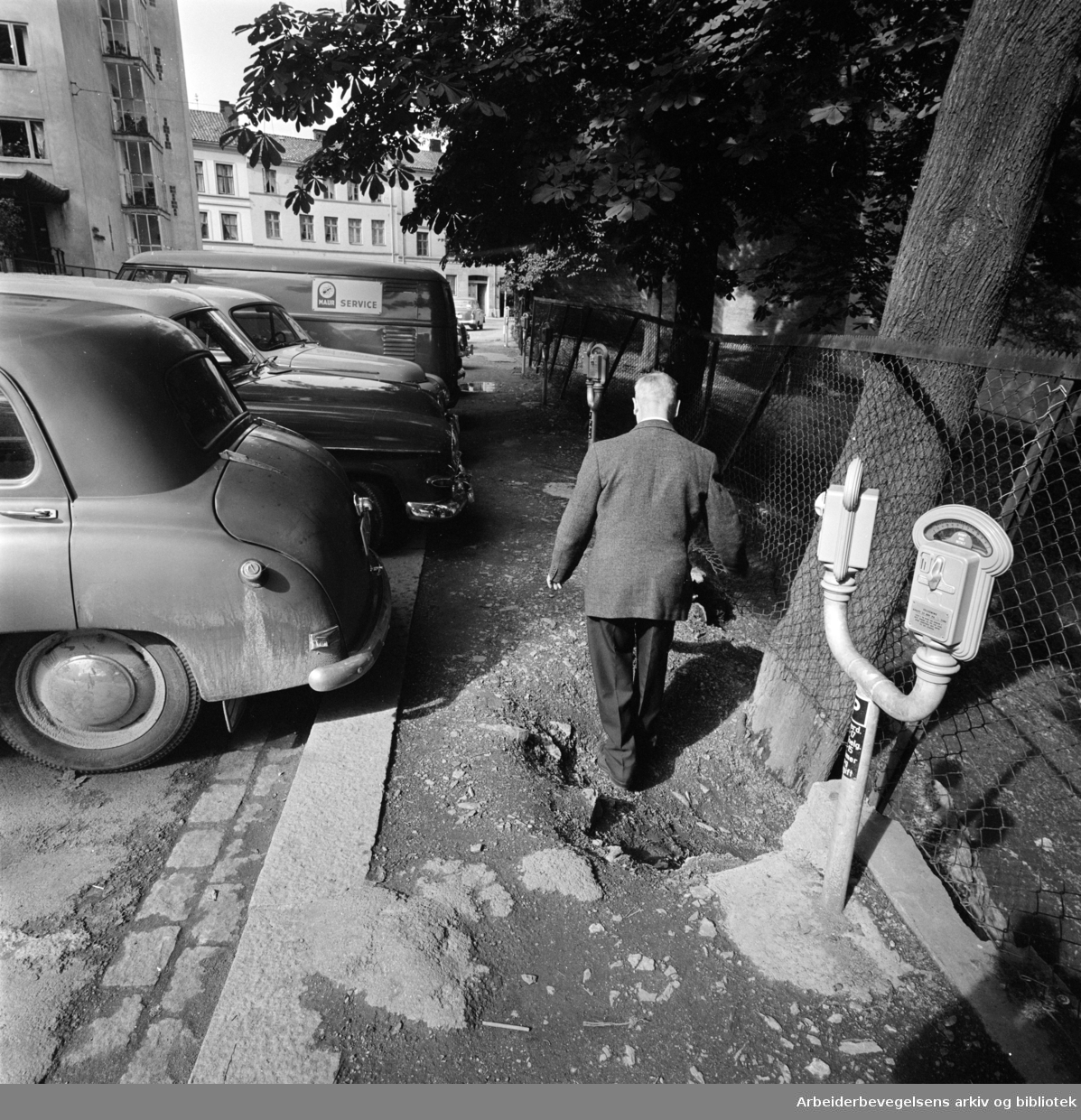 Fredensborgveien .September 1962