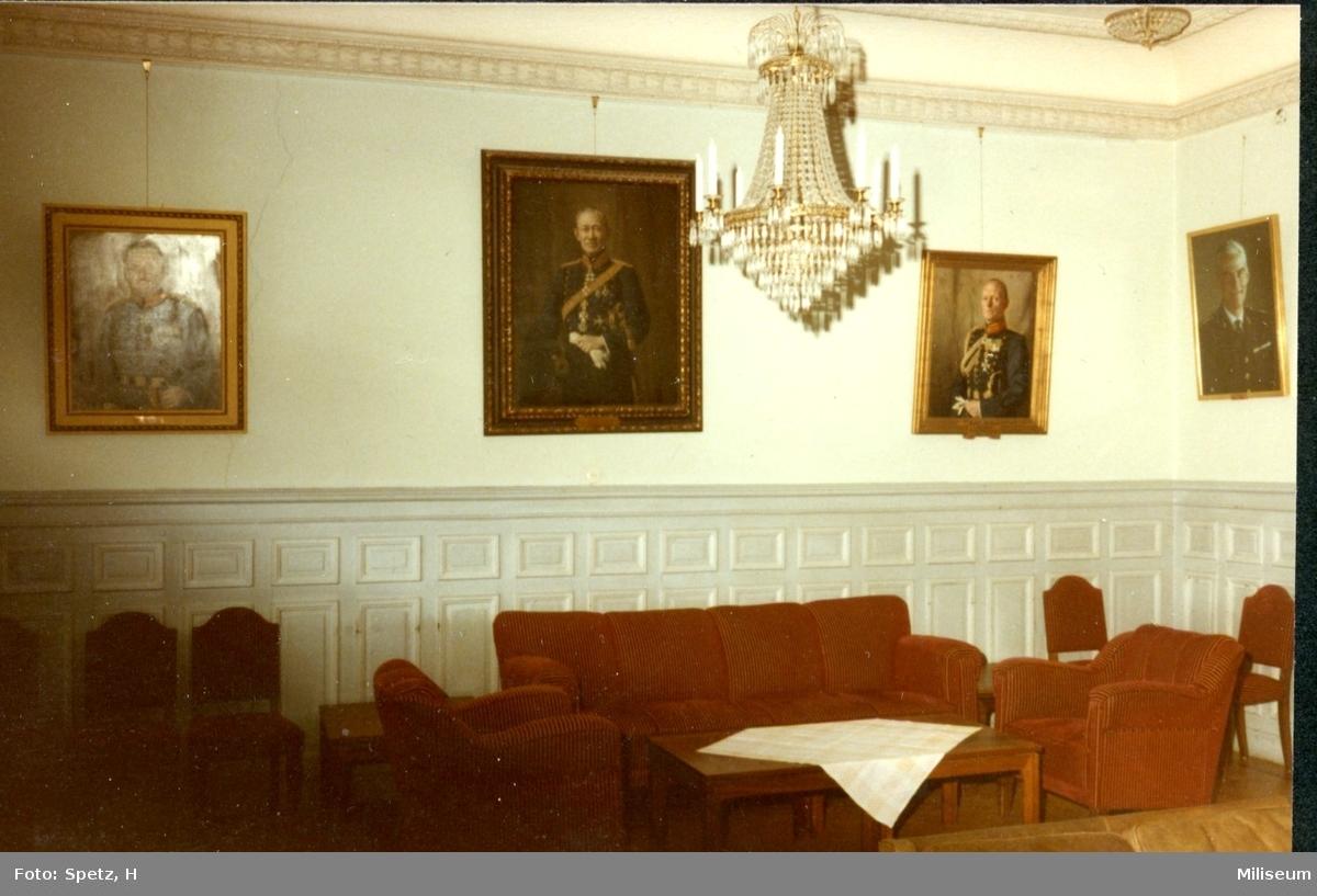 Regementsofficersmässen, A 6, Stora salongen.