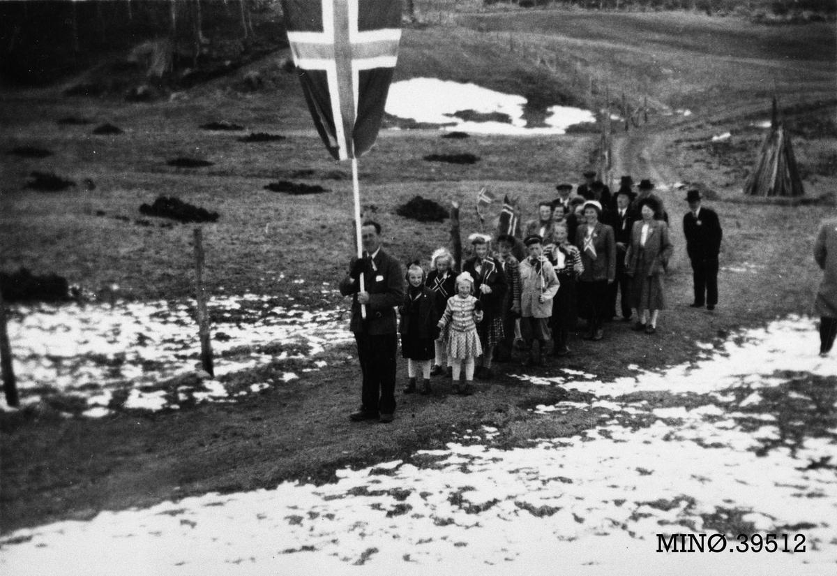 17. maitog på Narbuvoll.